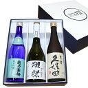 人気日本銘酒 飲み比べセット 720ml×3本 獺祭 磨き三割九分 越乃寒梅 灑(さい)純米吟醸 久保田 萬寿】父の日 日本酒…