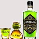(送料無料)COCALERO グラスセット コカレロ 29度 700ml ボムグラス1個 ショットグラス1個 コカの葉 リキュール 17種のハーブ使用