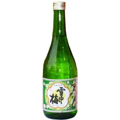 雪中梅 普通酒 720ml [新品商品]宅配用の破損防止箱代金も無料です