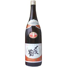 (新品商品です)〆張鶴 月 1800ml 〆張鶴 宮尾酒造 本醸造 宅配用の破損防止箱代は無料です。