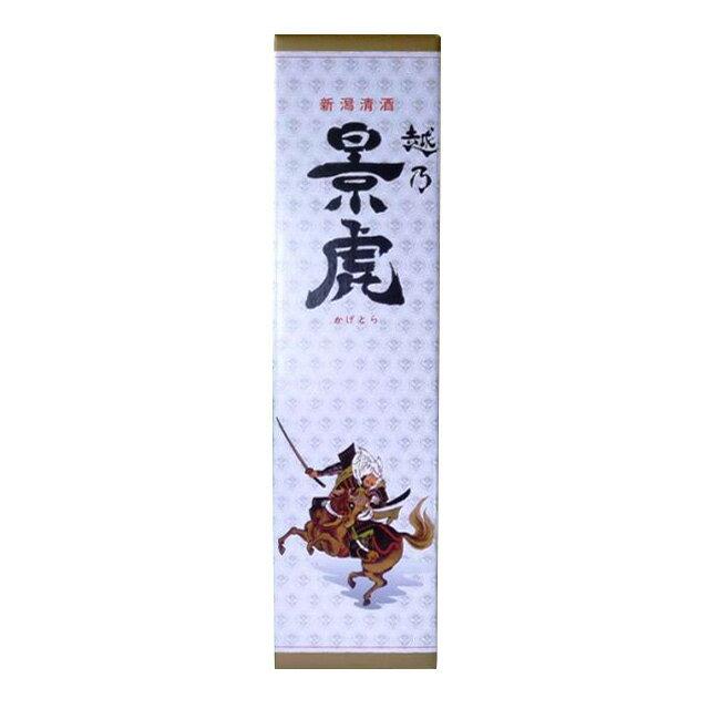 化粧箱 (越乃影虎名水仕込み特別本醸造酒専用 1800ml 1本入り用 )