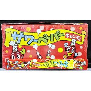 やおきん サワーペーパーキャンディ コーラ味 【36袋入り】