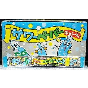 やおきん サワーペーパーキャンディ サイダー味 【36袋入り】