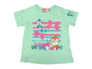 アンパンマン子供半袖Tシャツ(90)(95)(ドキンちゃん)