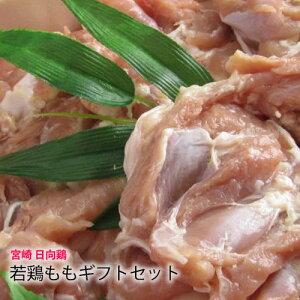 【 国産 地養鶏 日向鶏 】 若鳥 もも ギフト セット [4枚〜5枚:1.5kg] ソテー ステーキ 用 宮崎県 産 とりもも 鳥肉 鶏 唐揚 からあげ 水炊 鍋 《 化粧箱 》《 送料無料 》 焼肉セット 祝 ギフト 贈