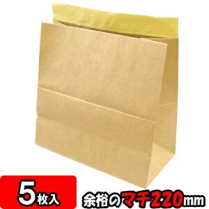 【あす楽】宅配袋 ビッグ45 5枚セット 【テープ付き 紙袋 発送用 宅急便 袋】【宅配袋セット】