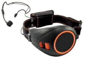 TOA ハンズフリー拡声器(ブラック・オレンジ)ER-1000BK