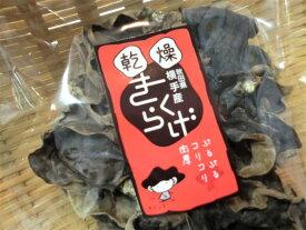 安心おいしい地物きくらげ 国産 秋田県横手産 無農薬 菌床栽培
