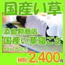 寝ござ(い草シーツ)おとな用シングル87x190cm