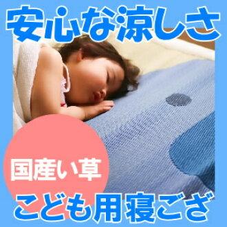 Soejima Isao Shoten. grass domestic children's 寝ござ ( playground mats mats ) 70x140cm Lee grass (rushes) sheets mats (MAT) nursery at big success