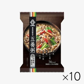 五養粥 黒 中華風醤油味(10食)