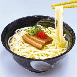 【送料無料】生沖縄そば味付け3枚肉付きセット1人前×10個