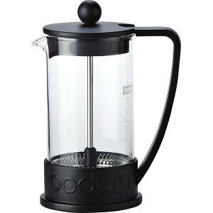 ボダム ブラジル フレンチプレスコーヒーメーカー ブラック 10948‐01 ドリップポット 北欧 キッチン ギフト プレゼント 贈り物 内祝 御祝 お返し 結婚 出産 お祝い 御礼
