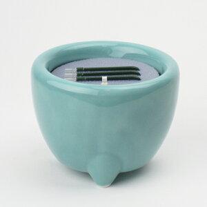 寝かせタイプ電池線香 3寸 浄土真宗本願寺派・西用直径9cm×高さ7.2cm