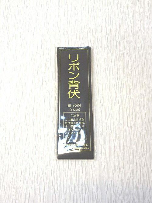リボン背伏(黒)