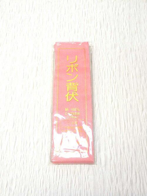 リボン背伏(濃ピンク)