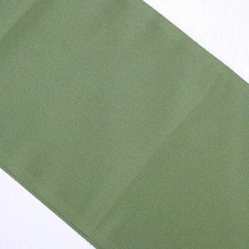 緑系無地半衿(ポリエステル)