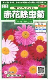 【赤花除虫菊】ロビンソンミックス【サカタのタネ】(1ml)【多年草】906435