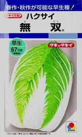 【ハクサイ】無双【タキイ種苗】(2.5ml)野菜種[秋まき]DF