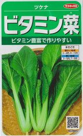 【ツケナ】ビタミン菜【サカタのタネ】(10ml)野菜種[秋まき]922881