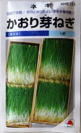 【芽ネギ】かおり芽ねぎ 【タキイ種苗】(1dl)野菜種[秋まき][春まき]【RCP】※袋デザインが違う場合があります