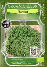 オーガニックシード(有機種子)ブロッコリースプラウト(14.0g)[周年まき]