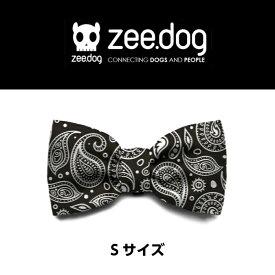 ◆5400円以上ご購入で送料無料◆【zee.dog】ジードッグ PAISLEY BOWTIE Sサイズ ボウタイ 蝶ネクタイ オシャレ