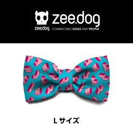 ◆5400円以上ご購入で送料無料◆【zee.dog】ジードッグ TETRIS BOWTIE Lサイズ ボウタイ 蝶ネクタイ オシャレ