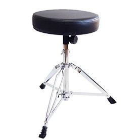 SYMPHA 高さ調整式 ドラムスローン / 折りたたみ型 ドラム椅子 ドラムスツール