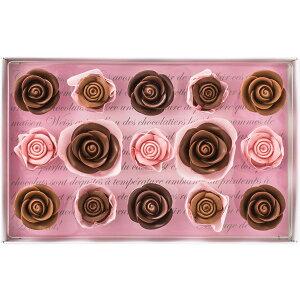 【送料無料】メサージュ・ド・ローズ レトル・グランLG030【10月中旬〜4月上旬お届け】【チョコレート バラ 薔薇 ローズ フランス クーベルチュールチョコレート 】【ギフト 内祝い 内祝 お