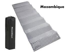 Mozambique(モザンビーク) キャンプ マット アウトドアマット レジャーマット 折りたたみ 車中泊 極厚20mm【何年も使える耐久性】