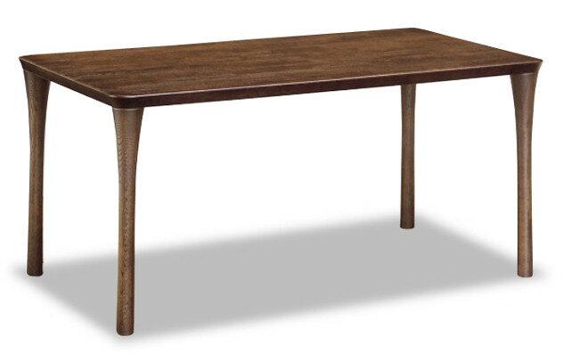 カリモク ダイニングテーブル DT4980MK 幅135 送料無料 家具のよろこび 【店頭受取対応商品】