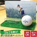 【送料無料キャンペーン中!】写真と文字で作るゴルフボール ディスプレイ 1球 《オリジナル 優勝 準優勝 入賞 ホール…