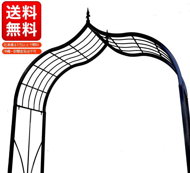 ガーデンアーチYR-A2600【送料無料】 【ガーデニング DIY つるバラ バラ ツルバラ ゲート アーチ アイアン ガーデンアーチ】