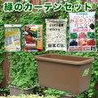 eco&ecoウインプランター深55型ゴーヤ栽培緑のカーテンセット【楽天ランキング入賞商品】05P05Apr14M【RCP】