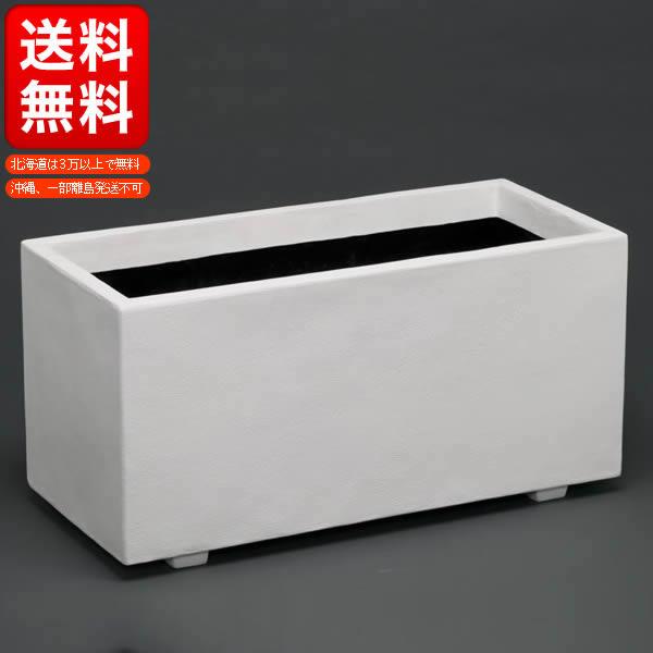ホワイトプランター W100型(F100))/大型プランター【送料無料】【深型プランター ガーデニング 】