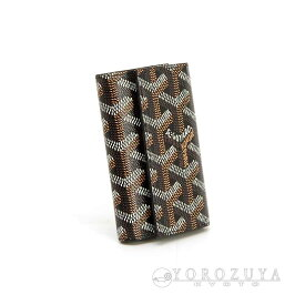 GOYARD ゴヤール キーケース 6P PVC/レザー STMICK PM ブラック 6連 PTE CLES ST MICHEL 【新品】