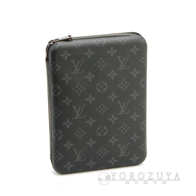 LOUIS VUITTON ルイ・ヴィトン iPad カバー・ボックス M61870 モノグラム・エクリプス iPadケース タブレットケース 【中古】