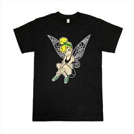 ティンカーベル タトゥー ディズニー パロディ Tシャツ ティンカー・ベル