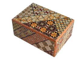 寄木細工 秘密箱7回仕掛け