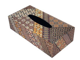 箱根寄木細工 ティッシュボックス 小寄木