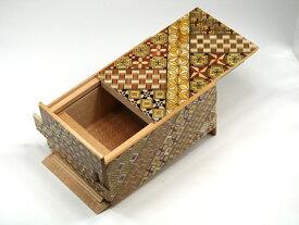箱根寄木細工 秘密箱21回仕掛け 5寸 小寄木