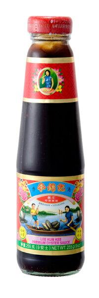 ☆【李錦紀特級蛎油(オイスターソース)】255g(ワレモノ商品)