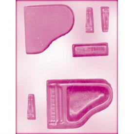 CK チョコレート型 立体3D グランド ピアノ チョコ モールド 耐熱65℃