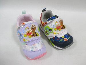 アンパンマン APM B30 パープル トリコ キッズ カジュアル マジック ベビー靴 誕生靴 出産祝い プレゼント スニーカー 子供靴 ムーンスター チーズ コキンちゃん バイキンマン ドキンちゃん
