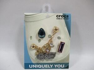 crocs クロックス 10008070 ジビッツ チャーム Charm Chain 5Pack チャームチェーン ドロップ 星 スター ハート キラキラ 5個入り 正規品
