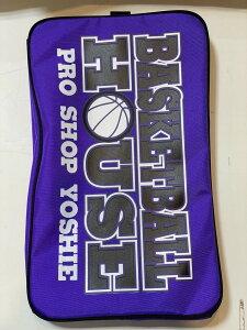 ヨシエスポーツオリジナル バスケットボールシューズケース (05)パープル×ブラック