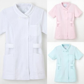 白衣 ナガイレーベン社製女性用、看護上衣白衣、半袖TS2077【】