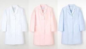 白衣 プリンセスライン&優しい衿の薬局衣ドクターコート/女性用シングル型EM3035【】