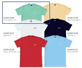 【ラッキーシール対応】■asics■ Tシャツ/ミントグリーンペットボトルのリサイクル素材を使用LKA512-84【】